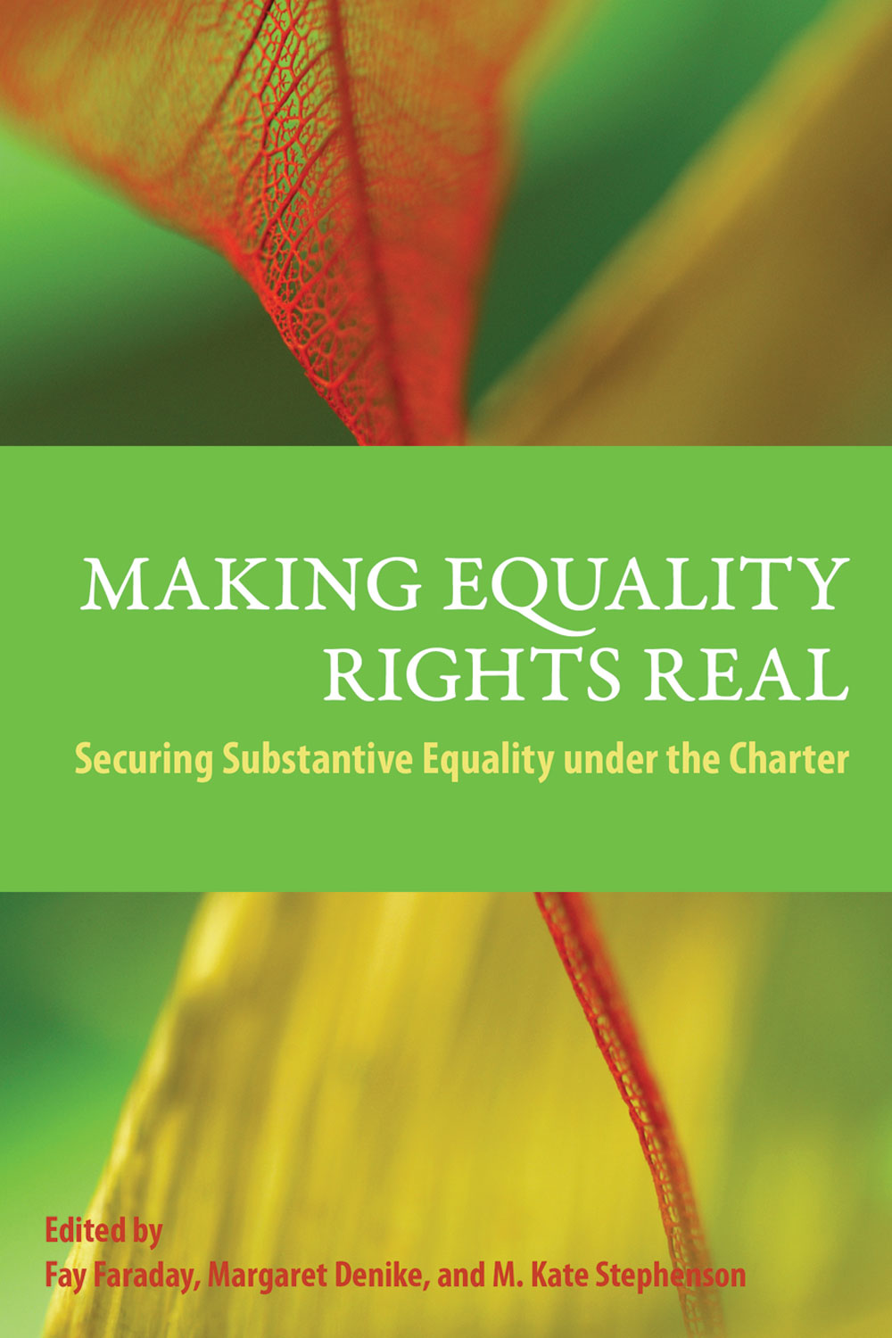 making Equality Rights Real book cover