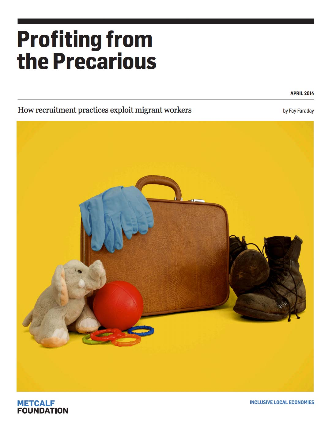 Profiting from the Precarious report cover