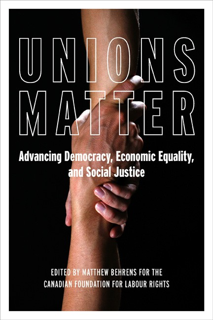 Unions Matter book cover